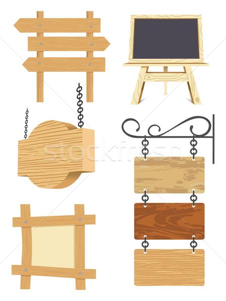 木製 コレクション フレーム 通信 ヴィンテージ 白 ストックフォト © ojal