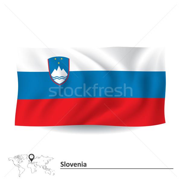 Flag of Slovenia Stock photo © ojal