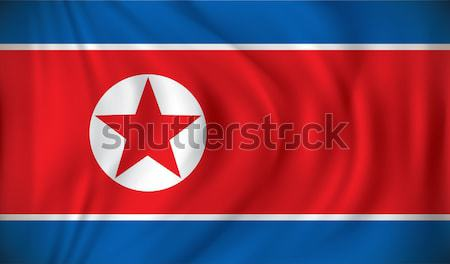 Flag of North Korea Stock photo © ojal
