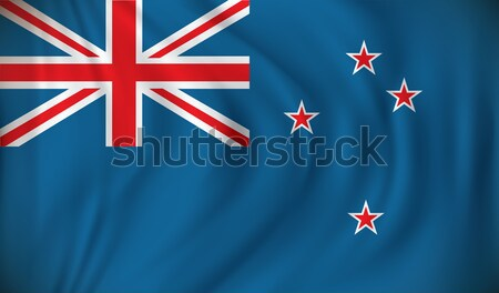 Flag of New Zealand Stock photo © ojal