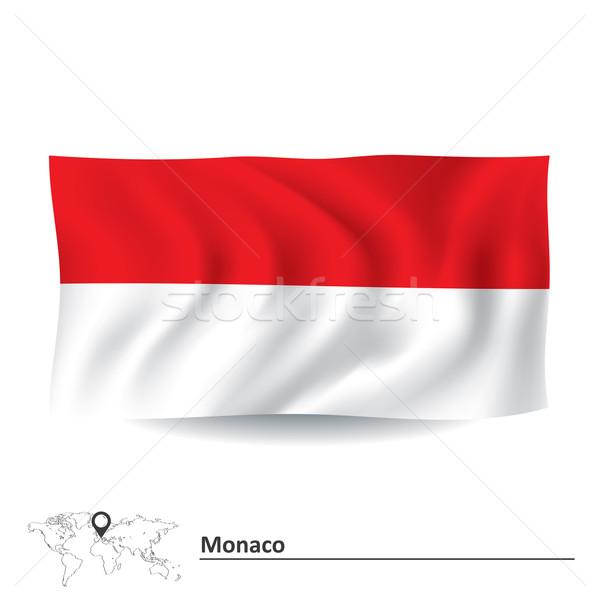 Flag of Monaco Stock photo © ojal