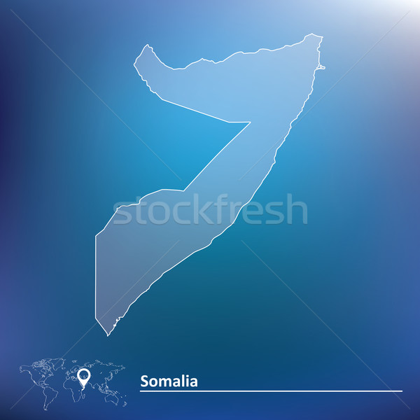 地図 ソマリア テクスチャ にログイン アフリカ 風 ストックフォト © ojal