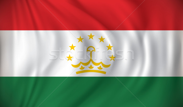 Flag of Tajikistan Stock photo © ojal