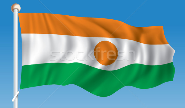 Flag of Niger Stock photo © ojal