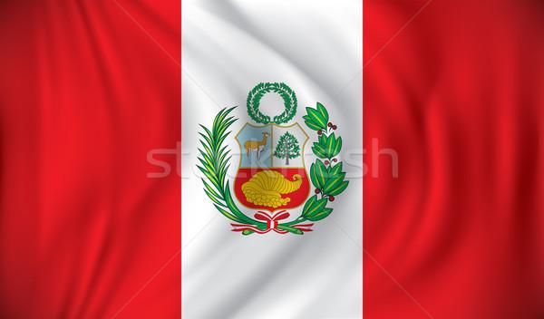 Flag of Peru Stock photo © ojal