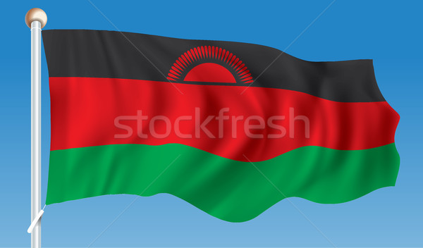 Vlag Malawi textuur zon wereld teken Stockfoto © ojal