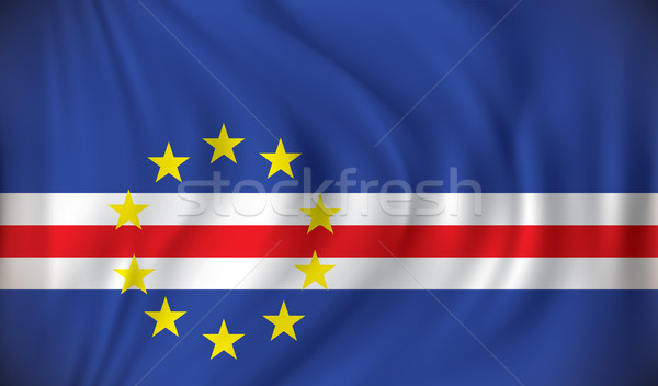 Flag of Cape Verde Stock photo © ojal