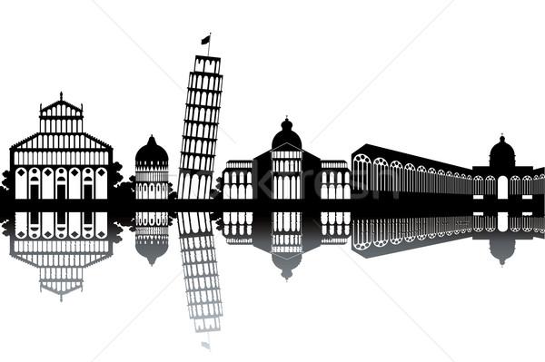 Pisa skyline Stock photo © ojal