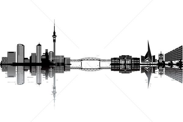 Auckland skyline Stock photo © ojal