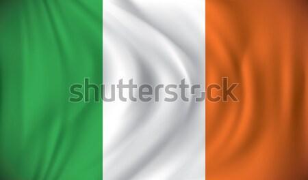 Flag of Ireland Stock photo © ojal