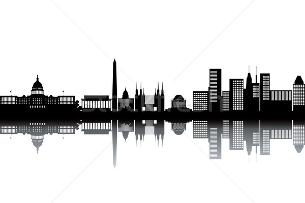 Washington skyline Stock photo © ojal