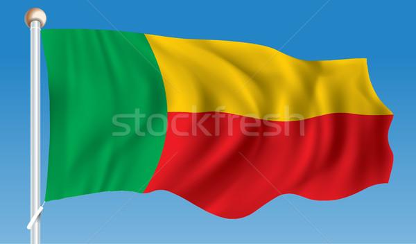 Flag of Benin Stock photo © ojal