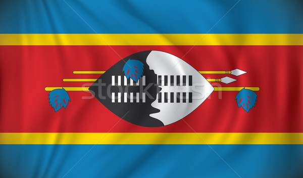 Flag of Swaziland Stock photo © ojal