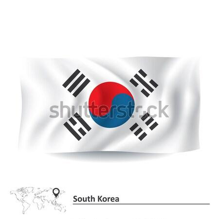 Flag of South Korea Stock photo © ojal