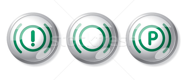 vehicle sign buttons Stock photo © ojal