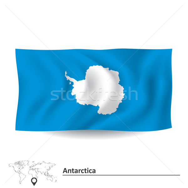 Flag of Antarctica Stock photo © ojal