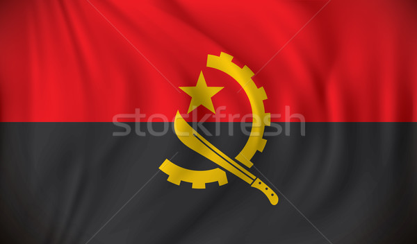 Flag of Angola Stock photo © ojal