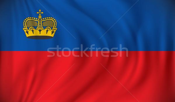 Bandiera Liechtenstein texture mappa design mondo Foto d'archivio © ojal