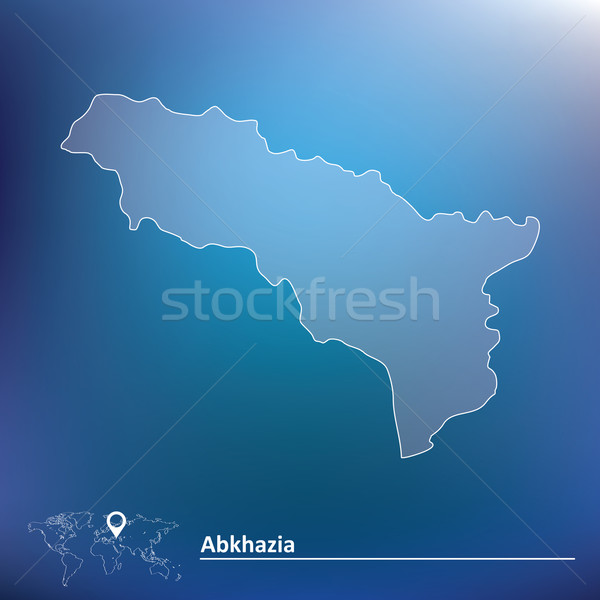 Map of Abkhazia Stock photo © ojal
