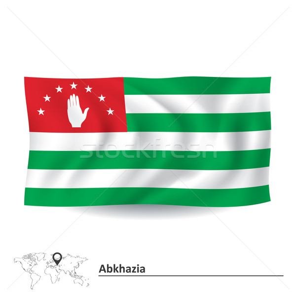 Flag of Abkhazia Stock photo © ojal