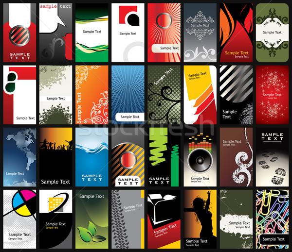 business card templates Stock photo © ojal