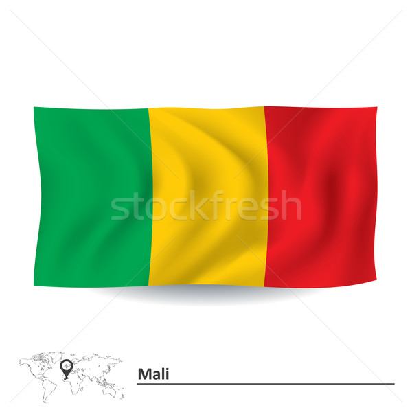 Flag of Mali Stock photo © ojal