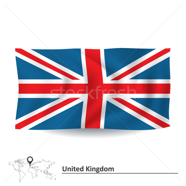 Flag of United Kingdom Stock photo © ojal