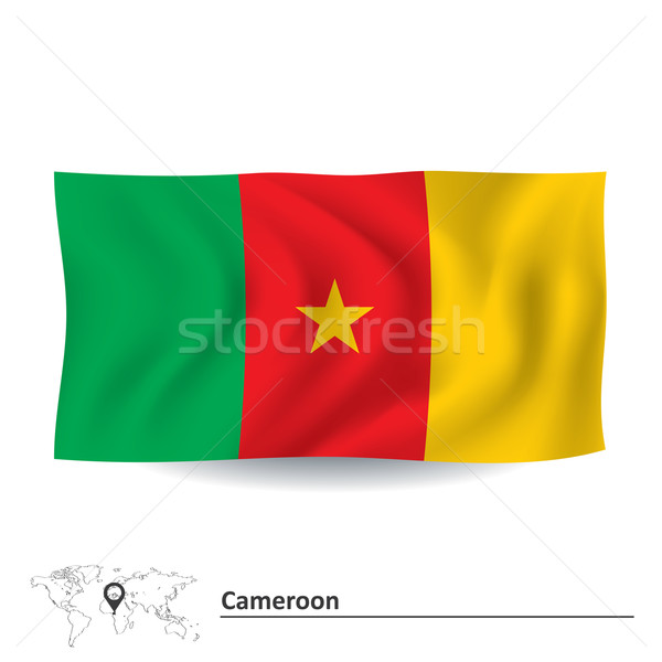 Flag of Cameroon Stock photo © ojal