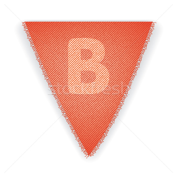 Bunting flag letter B Stock photo © ojal
