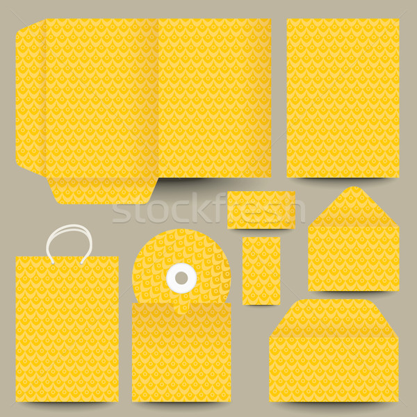 vector stationery design Stock photo © ojal