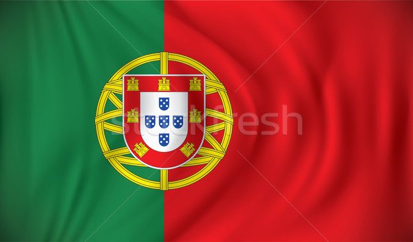 Flag of Portugal Stock photo © ojal