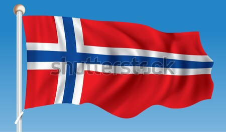Flag of Iceland Stock photo © ojal