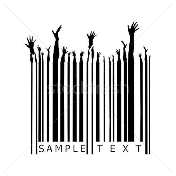 party barcode Stock photo © ojal