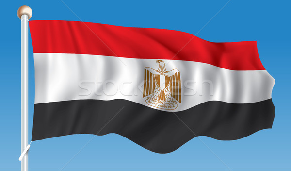 Flag of Egypt Stock photo © ojal