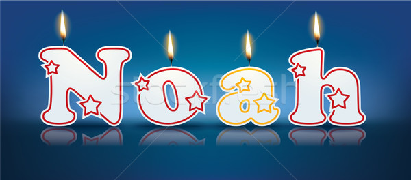 Foto stock: Escrito · ardente · velas · luz · aniversário · laranja