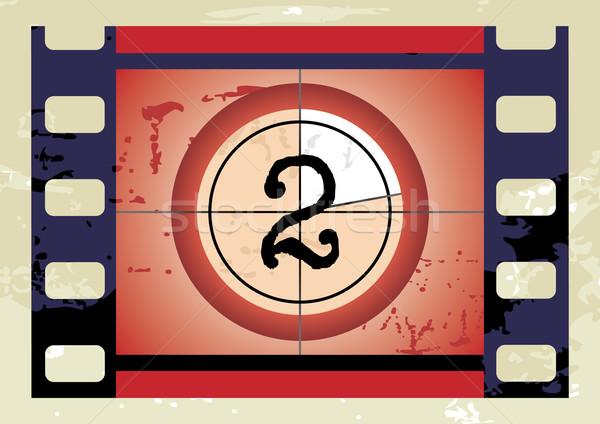 Film Countdown (vector) Stock photo © ojal