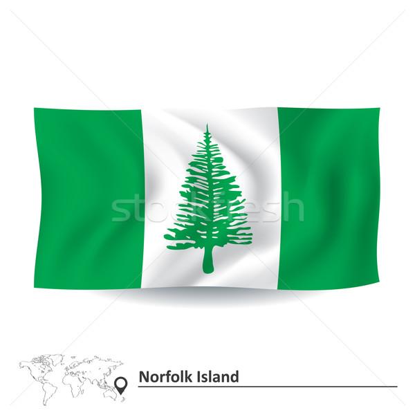 Flag of Norfolk Island Stock photo © ojal