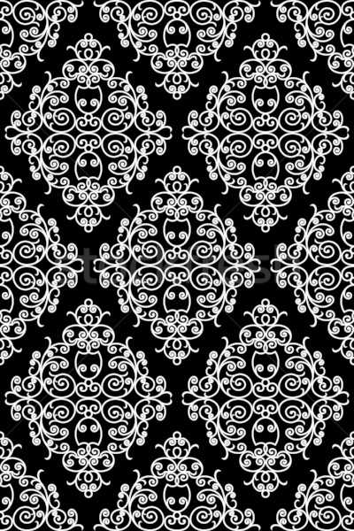wrought iron pattern - repeating left to right, top to bottom Stock photo © ojal