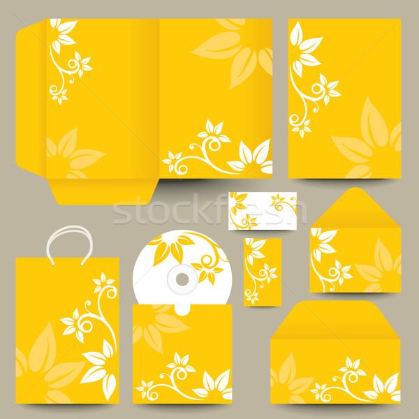 stationery design Stock photo © ojal