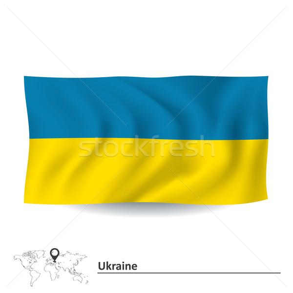 Flag of Ukraine Stock photo © ojal