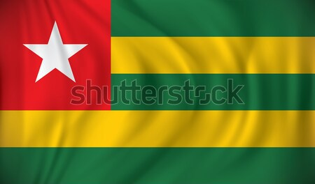 Flag of Togo Stock photo © ojal