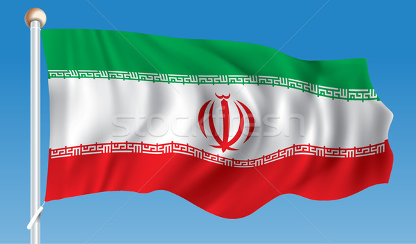 Flag of Iran Stock photo © ojal