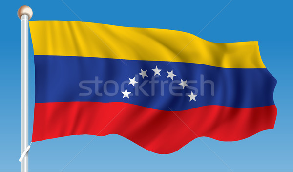 Flag of Venezuela Stock photo © ojal