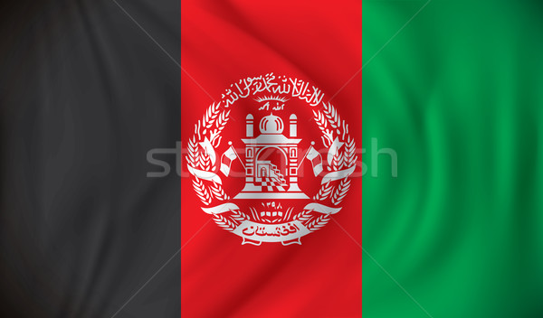 Flag of Afghanistan Stock photo © ojal