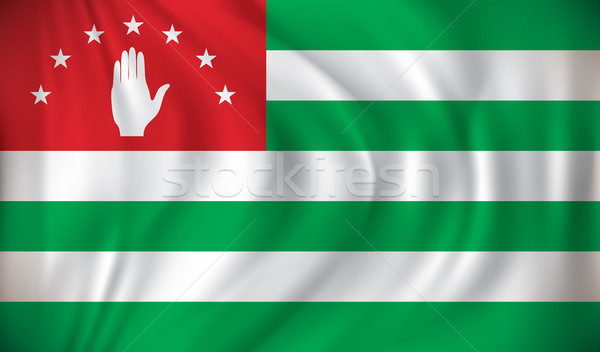 Flag of Abkhazia Stock photo © ojal