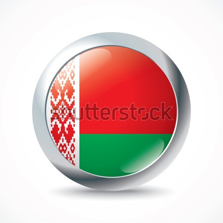Belarus flag button Stock photo © ojal