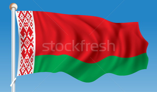 Flag of Belarus Stock photo © ojal