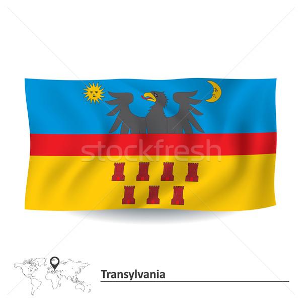 Flag of Transylvania Stock photo © ojal