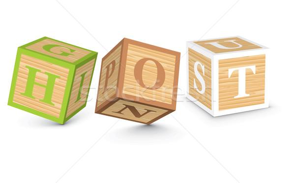 Parola caldo scritto alfabeto blocchi business Foto d'archivio © ojal