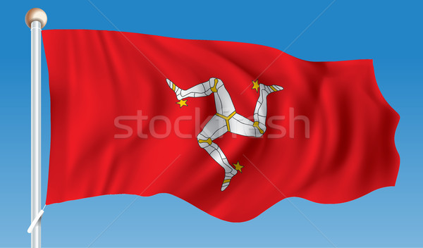 Flag of Isle of Man Stock photo © ojal